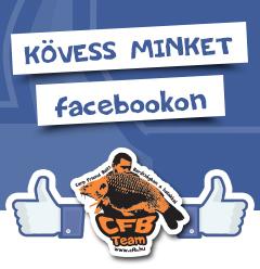Kövess bennünket a Facebook-on!