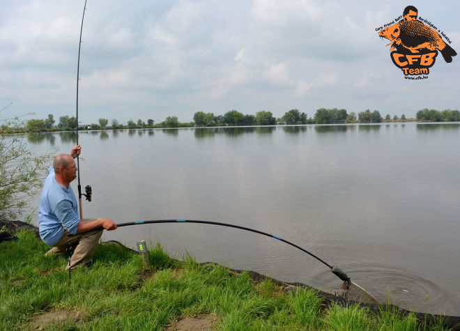 Szektorgyőzelem a Dreamfish Method Feeder Kupán